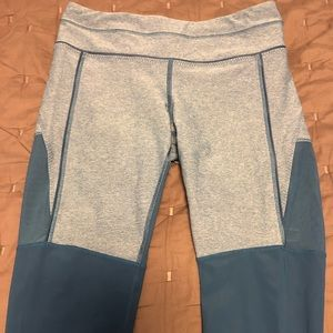 Lululemon leggings with sheer